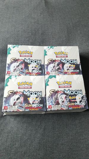 Pokemon Guardians Rising booster box for Sale in Everett, WA