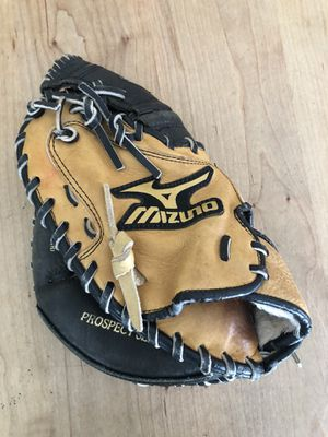 Mizuno GXC 110 Youth Leather Baseball Catchers Glove Excellent Condition! for Sale in Phoenix, AZ