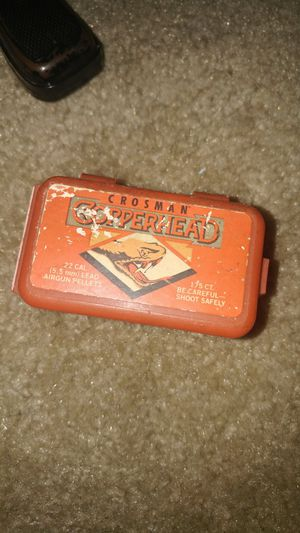 Vintage copperhead lead pellets for Sale in Cleveland, OH