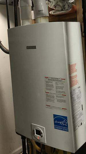 Bosch (Gas) Tankless Water Heater (Aquastar 2400 se ng) for Sale in Alexandria, VA
