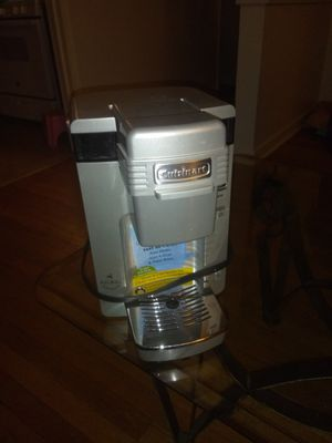 Cuisinart KEURIG single serve coffee maker for Sale in North Attleborough, MA