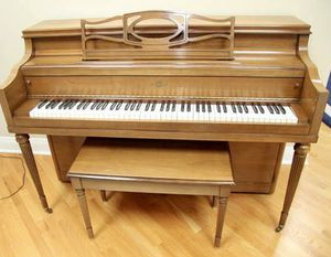 Cable Upright Piano & Bench for Sale in Oak Brook, IL