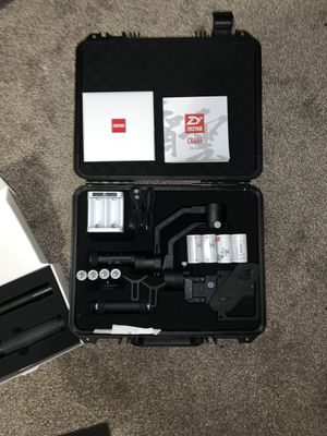 Zhiyun Crane gimbal with Accessories for Sale in Lacey, WA