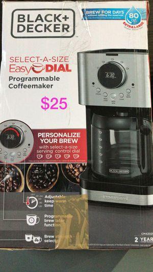 Black and decker programmable coffee maker for Sale in Bakersfield, CA