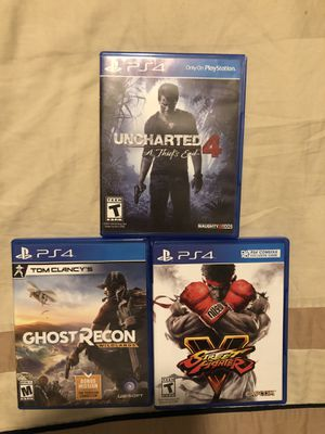 PlayStation 4 video games PS4 for Sale in Boston, MA