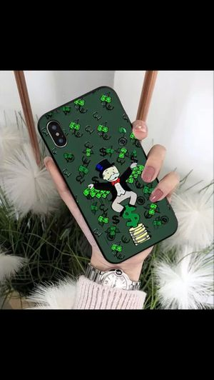 Luxury Iphone Alec Monopoly Man Phone Case Silicon Protective Iphone Case for Sale in Beverly Hills, CA