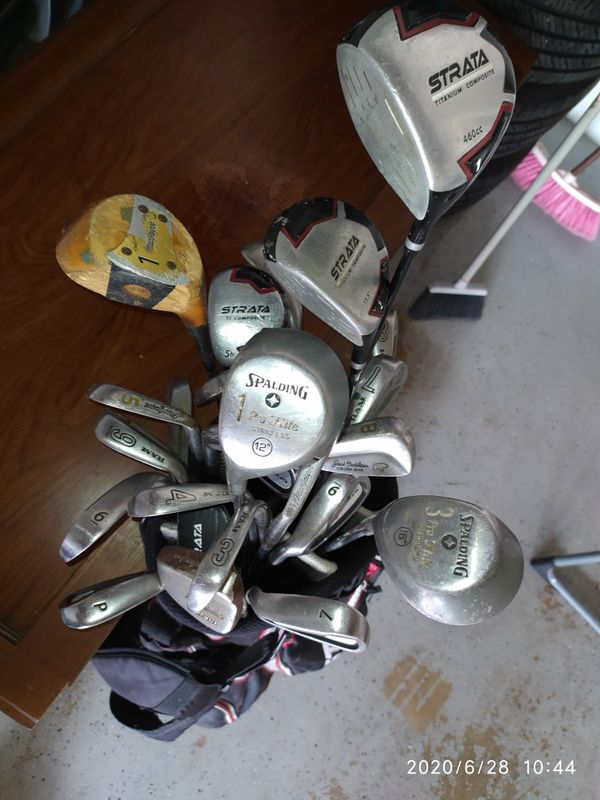 Golf bag set
