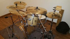 RARE Sonor Force Maple Drum set!!! Complete for Sale in Denver, CO