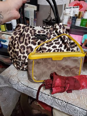 Cheetah Print Kate Spade & Coach for Sale in Spanaway, WA