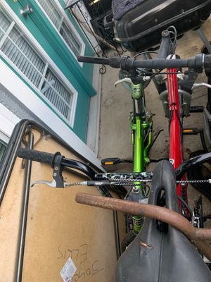 2 bikes mountain bike and kids bike for Sale in Dallas, TX
