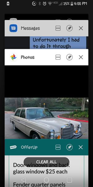 1971 Mercedes 280 SE ($75 parts) for Sale in Riverside, CA