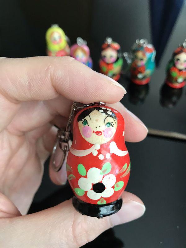 "Handmade keychain ""Matryoshka"""
