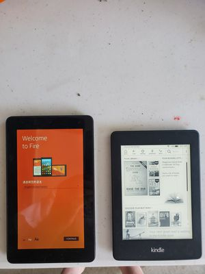 """7"""" Tablet and Paper White Kindle reader for Sale in North Ridgeville, OH"""