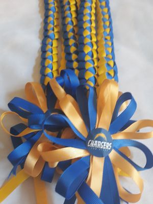 $8 NFL Charger Single Weave Ribbon Lei for Sale in Las Vegas, NV