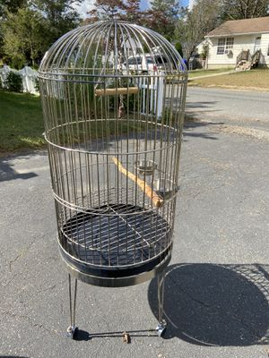 Parrot cage / larg bird cage for Sale in Brick Township, NJ