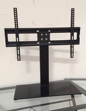 New in box 30 to 60 inches tv television stand replacement 120 lbs capacity dresser table tv stand tv mount soporte de tv for Sale in La Mirada, CA