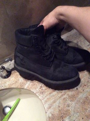 Timberland black camo boots for Sale in Hialeah, FL
