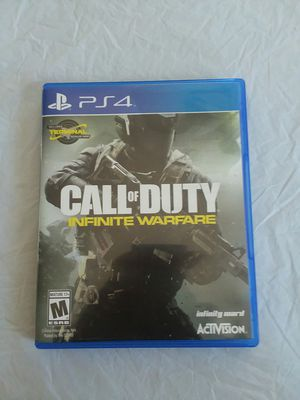 Call Of duty Infinite warface ps4 for Sale in Surprise, AZ