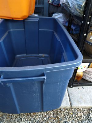 Rubbermaid storage containers for Sale in Yorba Linda, CA