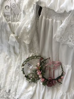 2 White Dresses Perfect For Blossom Picture Session for Sale in Tracy,  CA