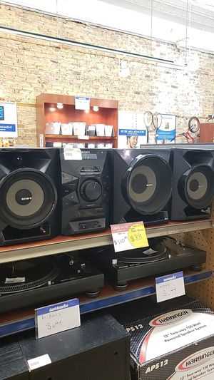 Sony Home Stereo System for Sale in Chicago, IL