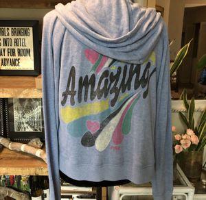 Victoria's Secret PINK zip up hoodie size medium for Sale in San Diego, CA