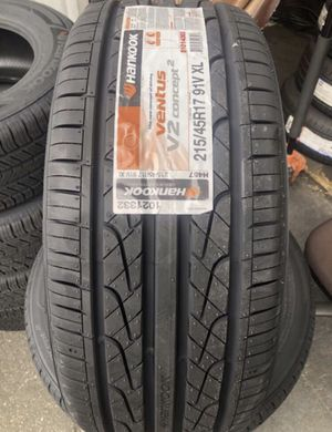 4 new Tires 215/45/17 Hankook for Sale in City of Industry, CA
