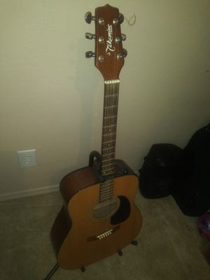 TAKAMINE ACOUSTIC GUITAR .stand not included $88 for Sale in Phoenix, AZ