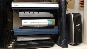 Lot of 8 modems & routers for Sale in Tracy, CA