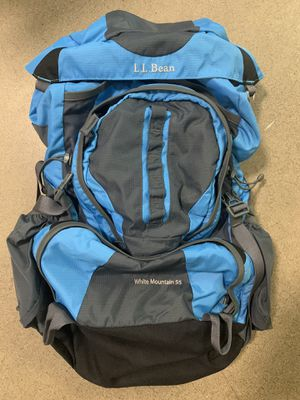 L.L. Bean White Mountain 55 Hiking Backpack for Sale in Phoenix, AZ