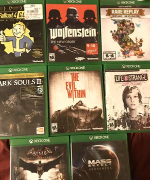 Xbox one $15 each for Sale in San Diego, CA