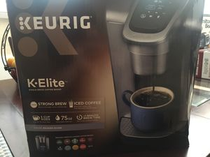 Keurig elite single serve coffee maker for Sale in Fort Worth, TX