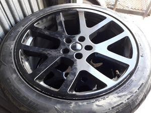 "Dodge 20"" Black wheels for Sale in Orlando, FL"
