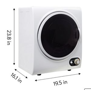 Magic Chef 1.5 cu ft Compact Dryer, White Magic Chef Model: MCSDRY15W for Sale in New York, NY