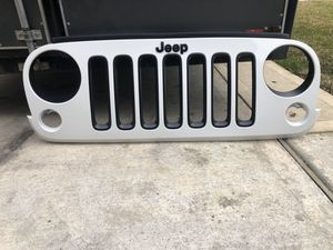 Jeep Parts rock sliders, grill, lights , spacers , OEM for Sale in Crosby, TX
