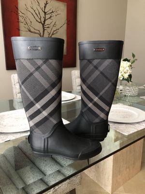 Burberry rain boots for Sale in Golden Oak, FL