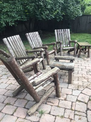Wooden patio furniture for Sale in Bexley, OH