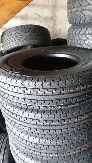 235/85/16 Heavy Duty 14 ply trailer tires on special for Sale in Pflugerville, TX