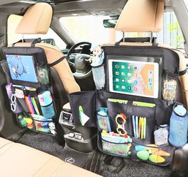 Messy Car? Roadtrip? High Quality Backseat Organizer for Kids! Less Stress for All!  for Sale in Frederick, MD
