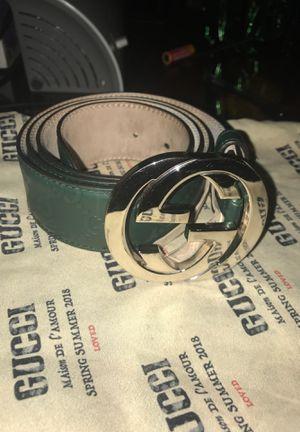 Gucci Men's Belt 32-34 for Sale in Chicago, IL