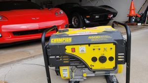 Champion 3650 Watt Portable Generator for Sale in Saint Robert, MO