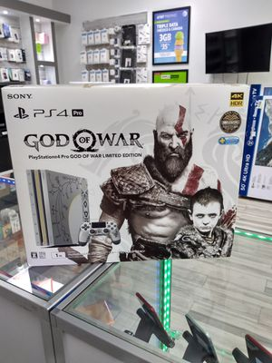PS4 Pro God Of War Edition 1TB as low as $35 down payment for Sale in Sanford, FL
