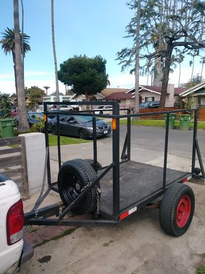 Utility trailer. 76 1/2 long. 54 1/2 wide for Sale in Los Angeles, CA