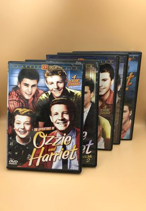 Ozzie and Harriet five volume complete DVD set classic TV series for Sale in Las Vegas, NV
