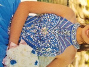 Quincenera dress with accessories for Sale in Los Angeles, CA
