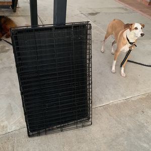 "Large Dog Crate One Year Old Lightly Used 37"" Long 23"" Wide for Sale in Los Angeles, CA"