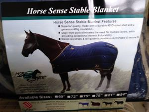 TWO NEW Horse stable blankets. Keeps your beauties safe and fly-free. for Sale in Cape Coral, FL