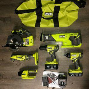 Ryobi 6 tool kit for Sale in Largo, FL
