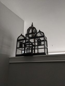decorative bird cage as a rope to hang for Sale in Carmel,  IN