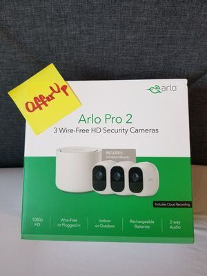 Arlo Pro 2 3 Wireless HD security camera system for Sale in Santa Ana, CA